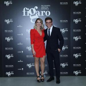 Sara y Carlos, durante la final de 2018